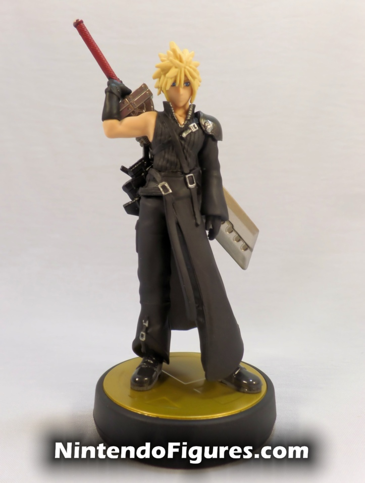 Cloud Strife Player Two Amiibo Super Smash Brothers Final Fantasy 7