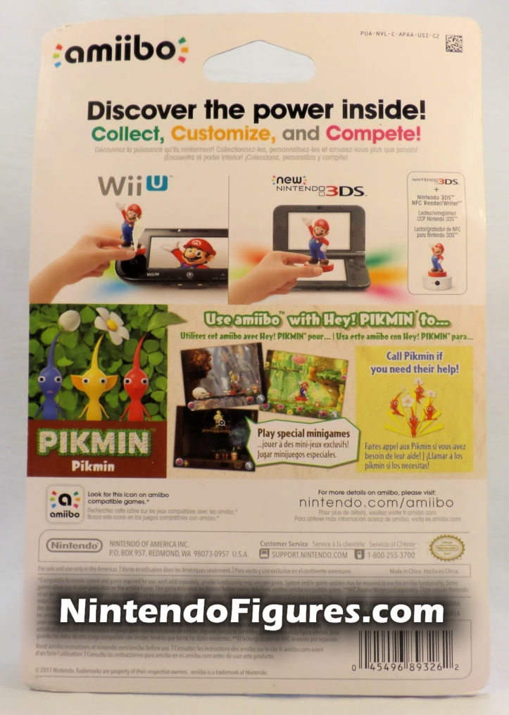 Pikmin Amiibo Box Back Hey Pikmin