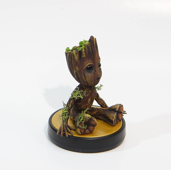 Groot Custom Amiibo AKshop08