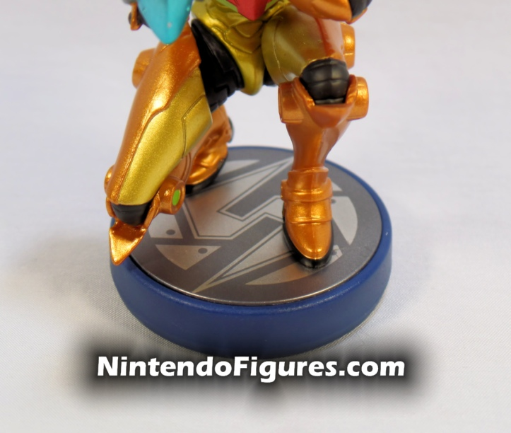 Metroid Samus Aran and Metroid Amiibo 2-Pack Base
