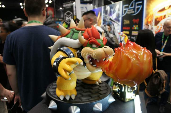 Bowser Statue Super Mario Nintendo First 4 Figures