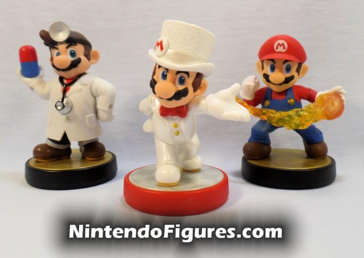 Mario Odyssey Doctor Mario Smash Brothers Mario Amiibo Comparison