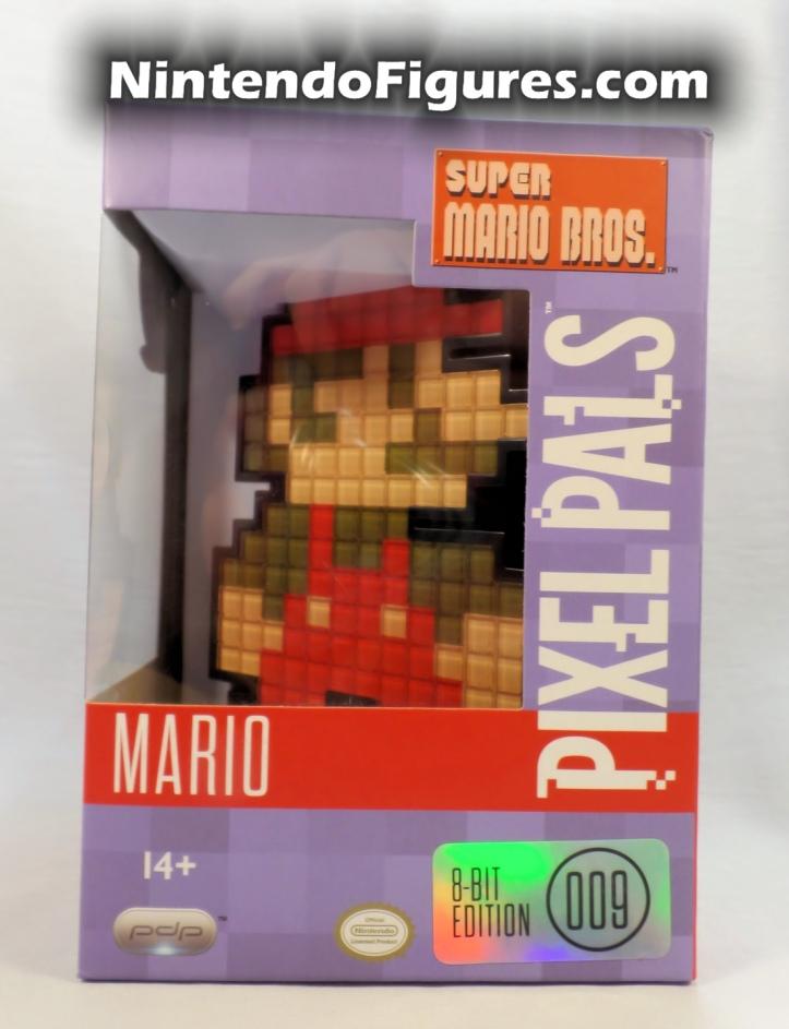 Mario Pixel Pals PDP Super Mario Brothers Box Front