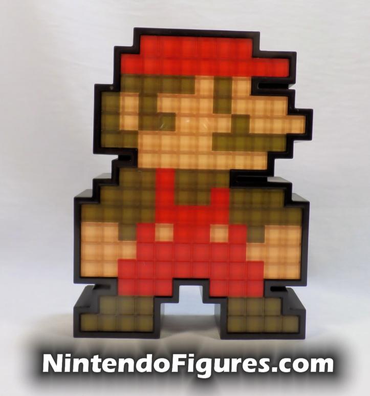 Mario Pixel Pals PDP Super Mario Brothers Front Nintendo Retro 8-Bit