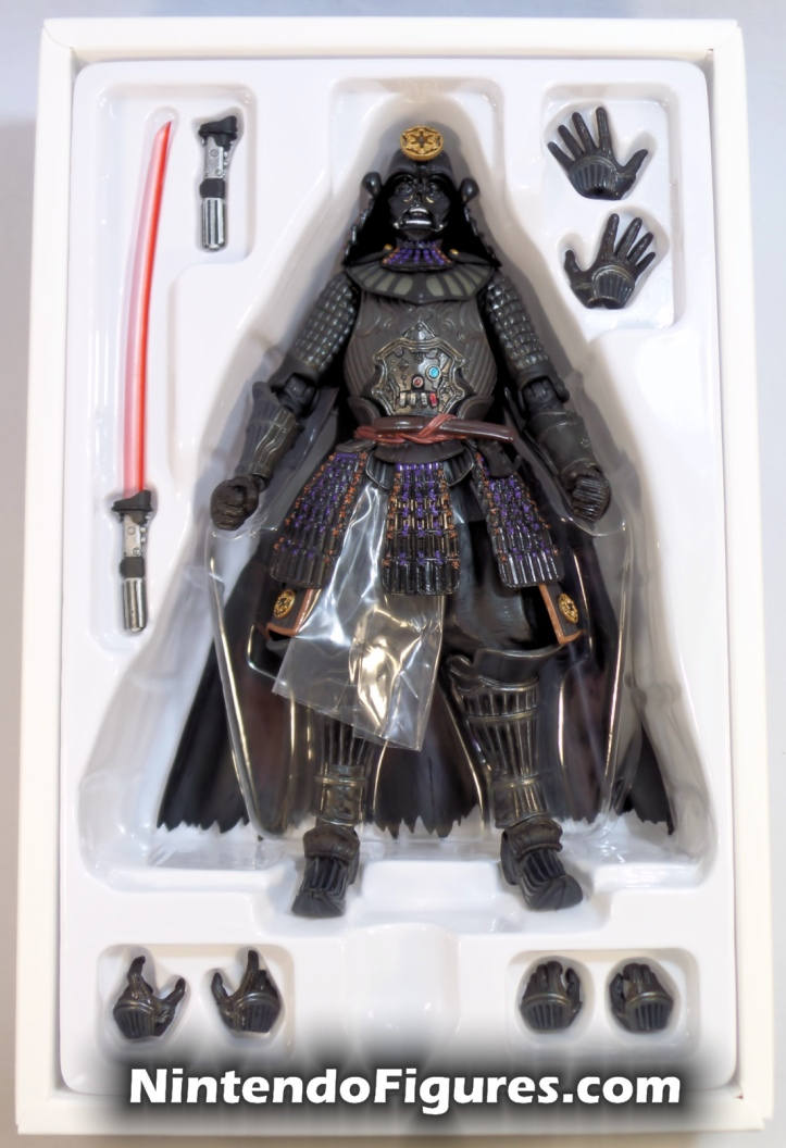 Darth Vader Samurai Taisho Move Realization Star Wars Bandai Tamashii Nations Accessories