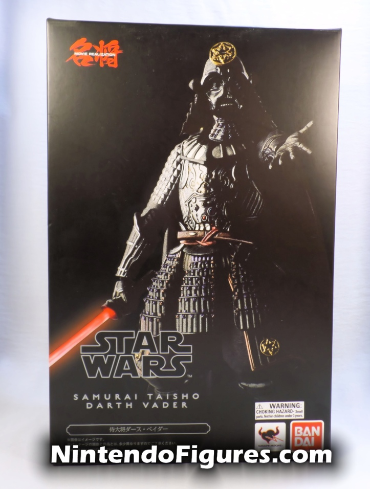 Darth Vader Samurai Taisho Move Realization Star Wars Bandai Tamashii Nations Box Front