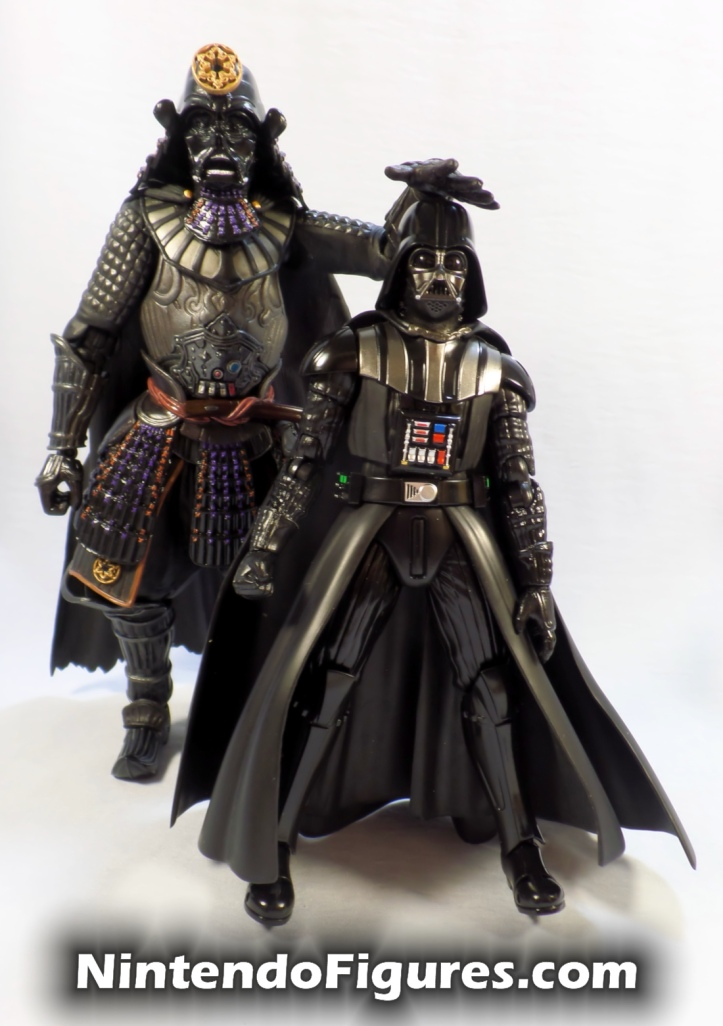 Darth Vader Samurai Taisho Move Realization Star Wars Bandai Tamashii Nations with S.H. Figuarts Vader
