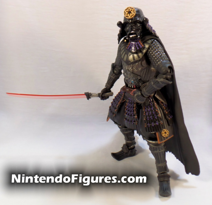 Darth Vader Samurai Taisho Move Realization Star Wars Bandai Tamashii Nations Pose 1