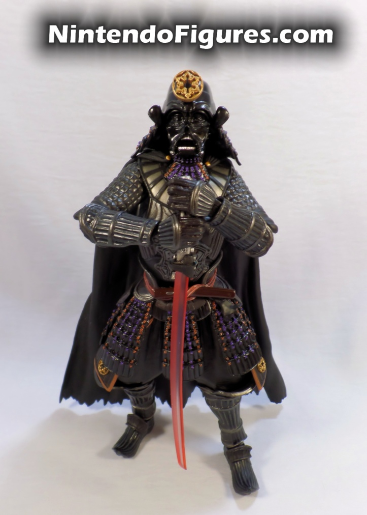 Darth Vader Samurai Taisho Move Realization Star Wars Bandai Tamashii Nations Pose 3