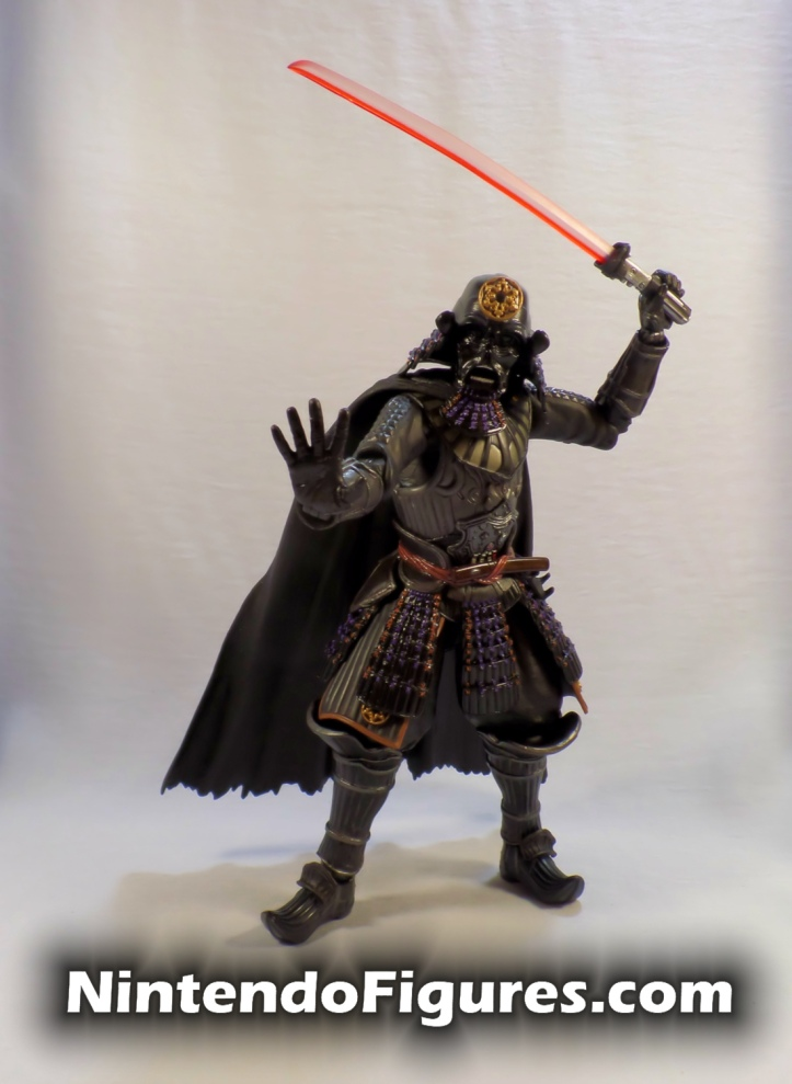 Darth Vader Samurai Taisho Move Realization Star Wars Bandai Tamashii Nations Pose 4