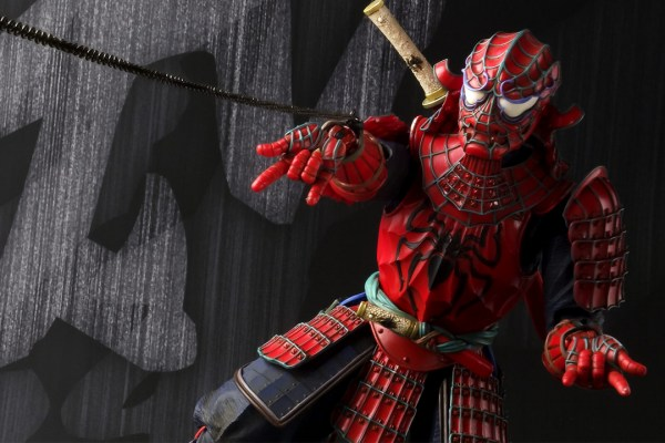 Spiderman Marvel Movie Realization Marvel Samurai