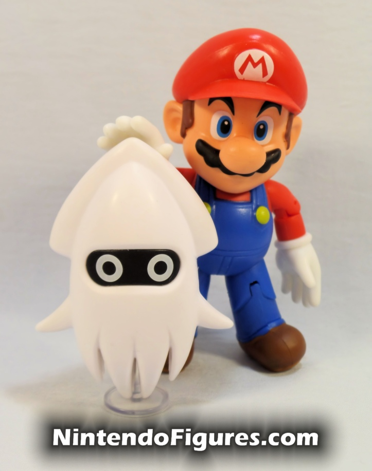 Blooper World of Nintendo 2.5 Figure with Mario