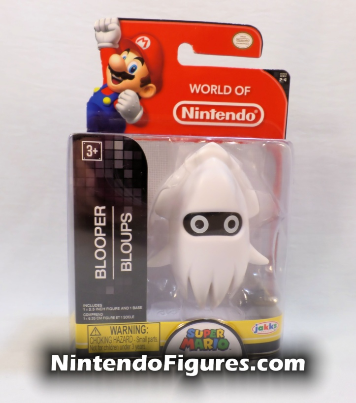 Blooper World of Nintendo 2.5 Figure Box Front