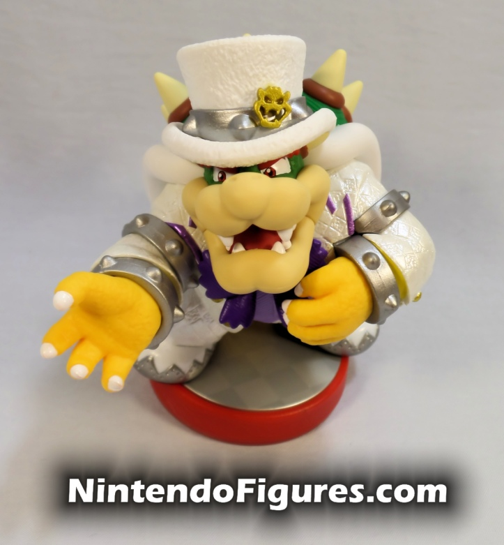 Bowser Super Mario Odyssey Amiibo Front Nintendo