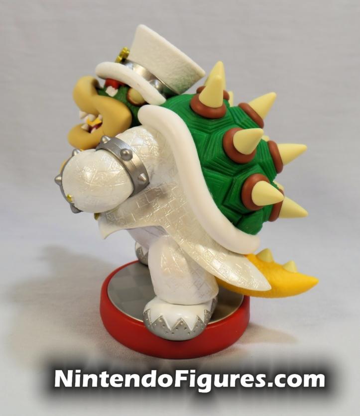 Bowser Super Mario Odyssey Amiibo Side Nintendo