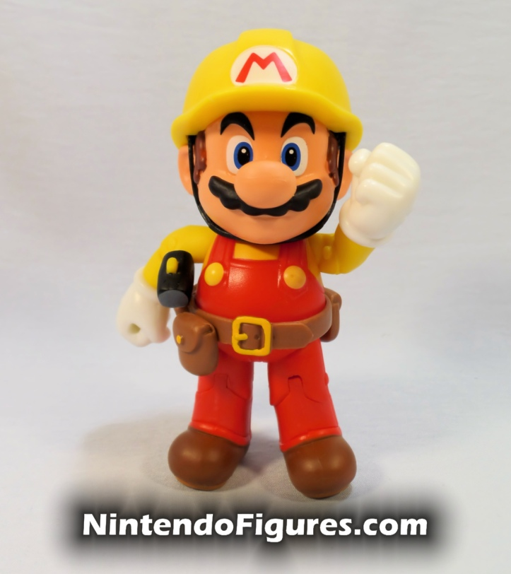 "Mario Super Mario Maker World of Nintendo 4"" Figure Pose 1"