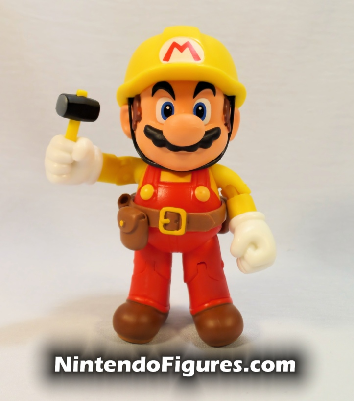 "Mario Super Mario Maker World of Nintendo 4"" Figure Pose Two"