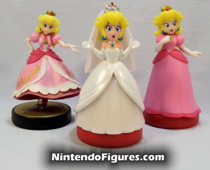 Princess Peach Super Mario Odyssey Amiibo Super Smash Brothers Super Mario Comparison