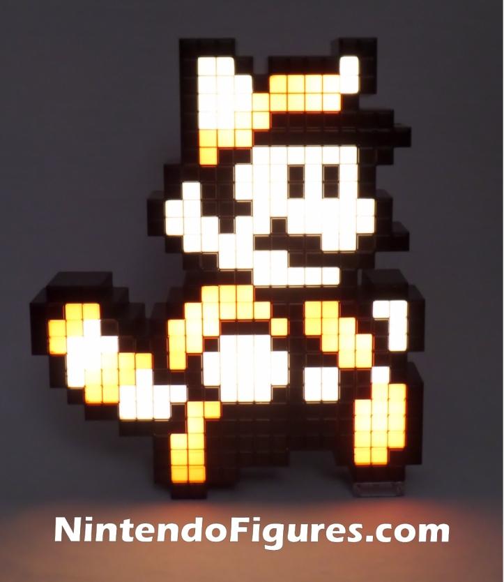 Raccoon Mario Super Mario Bros. 3 Nintendo PDP Pixel Pal Lit