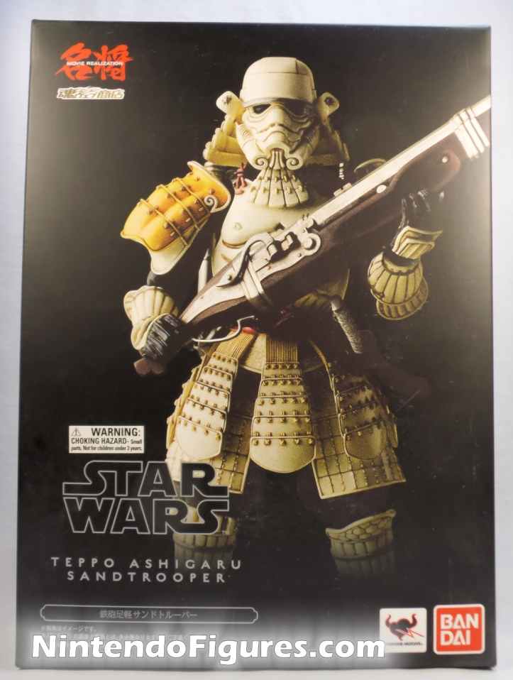 Sandtrooper Movie Realization Bandai Tamashii Nations Box Front Star Wars