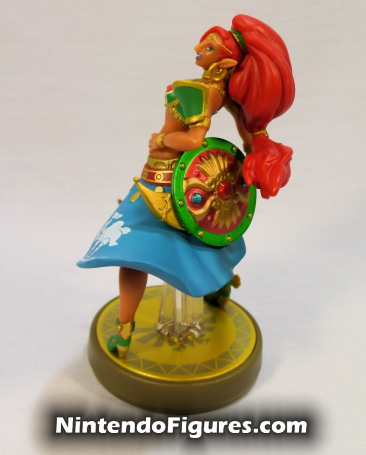 Urbosa Legend of Zelda Breath of the Wild Amiibo Side 2