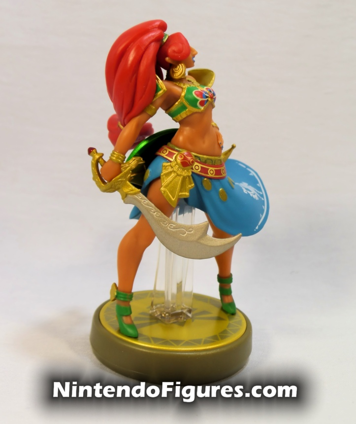 Urbosa Legend of Zelda Breath of the Wild Amiibo Side 1