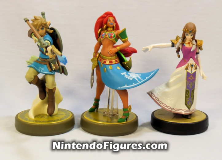 Urbosa Legend of Zelda Breath of the Wild Amiibo Archer Link Princess Zelda Smash Brothers