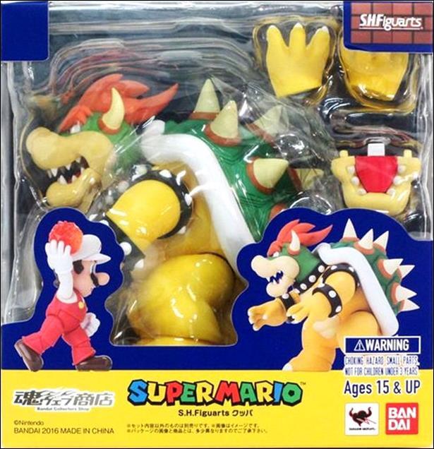 Bandai S.H. Figuarts Bowser Box Super Mario