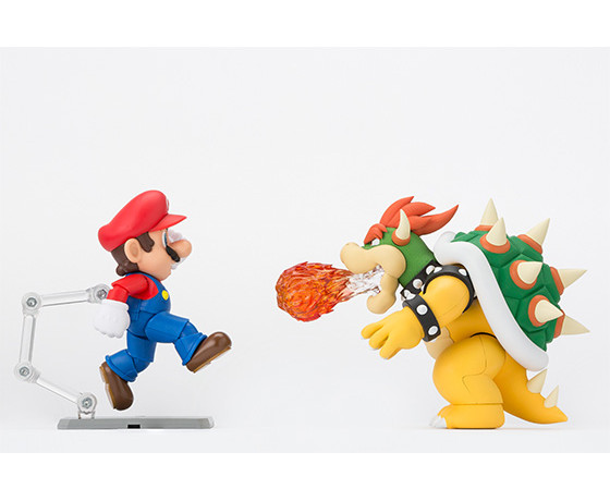 Bandai S.H. Figuarts Bowser with Mario