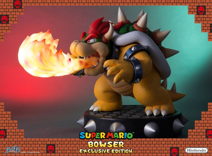 Bowser First 4 Figures Exclusive Statue