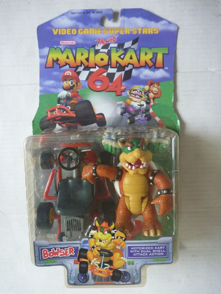 Bowser Mario Kart 64 Toy Biz