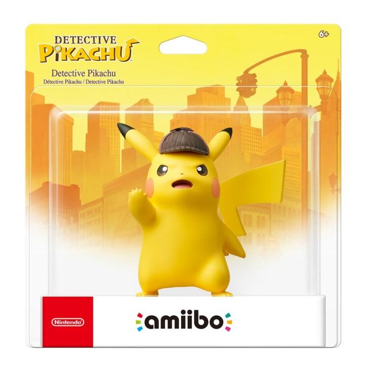 Detective Pikachu Pokemon Nintendo Amiibo Box Art