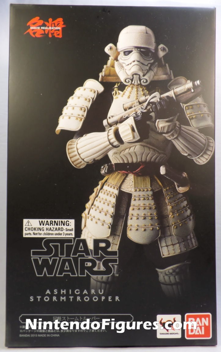 Ashigaru Stormtrooper Bandai Star Wars Movie Realization Tamashii Nations Box Front