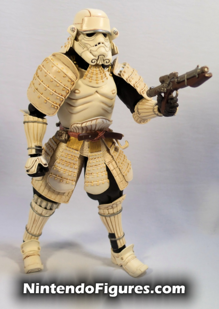 Ashigaru Stormtrooper Bandai Star Wars Movie Realization Tamashii Nations with Blaster