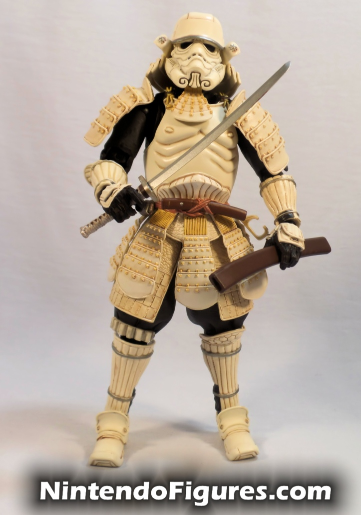 Ashigaru Stormtrooper Bandai Star Wars Movie Realization Tamashii Nations with Sword and Scabbard