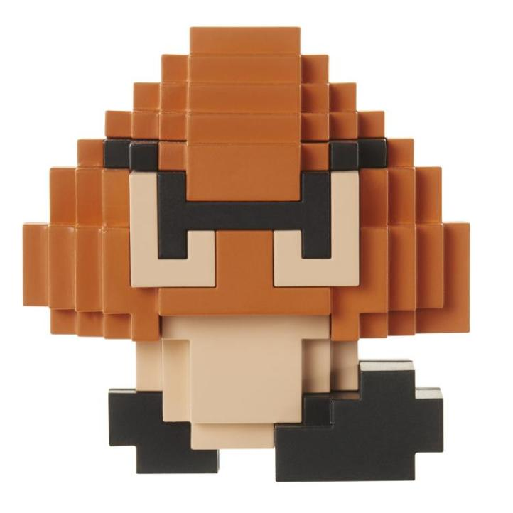 8-Bit Goomba World of Nintendo Figure NES Jakks Pacific