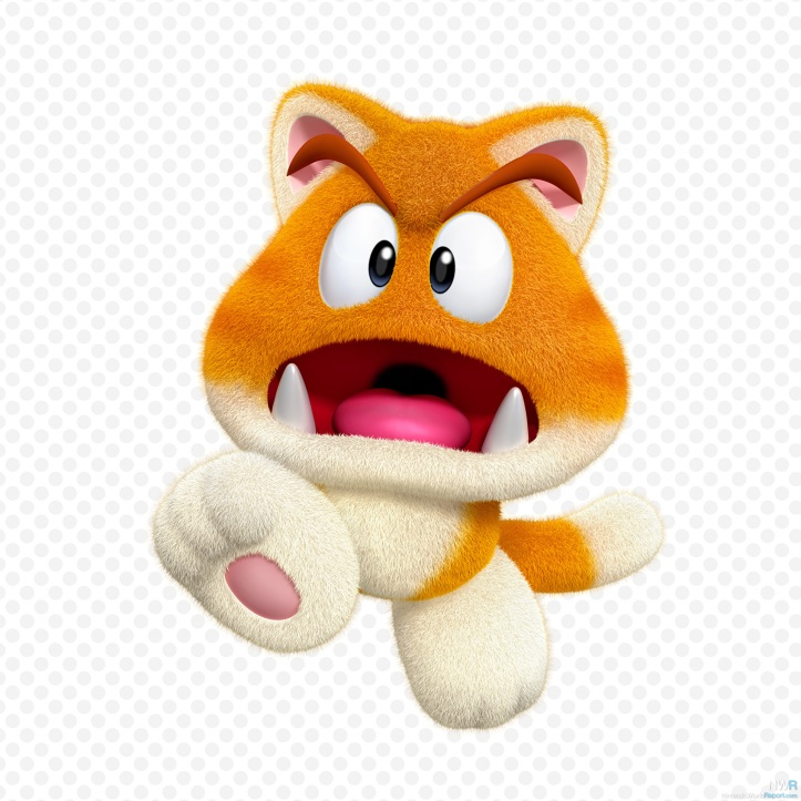 Cat Goomba Super Mario 3D World Wii U Nintendo