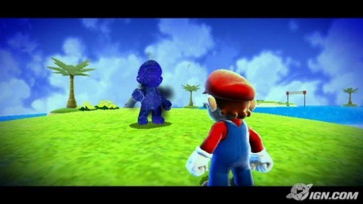Cosmic Mario Super Mario Galaxy Nintendo Wii