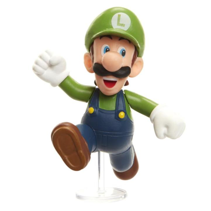 Luigi 2.5 World of Nintendo Figure Nintendo Jakks Pacific