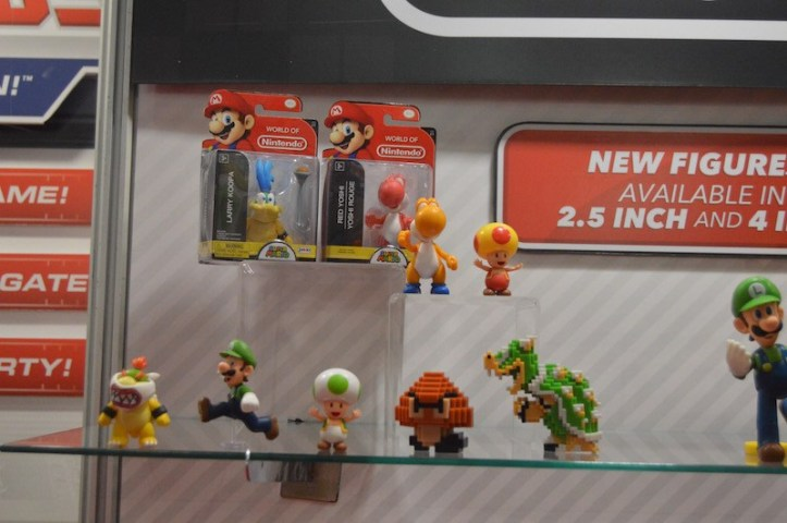 New 2.5 Inch World of Nintendo Figures Jakks Pacific
