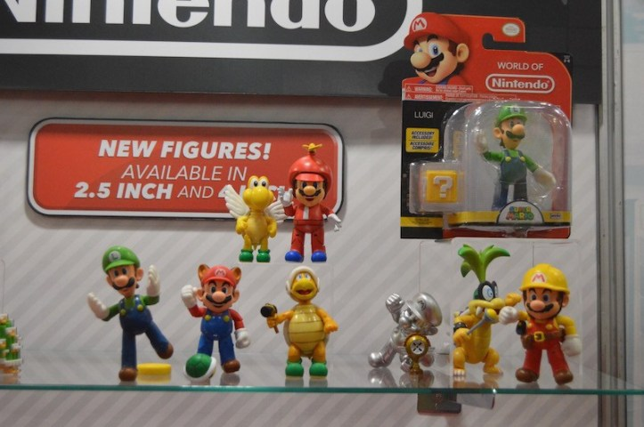 New 4 Inch World of Nintendo Figures Propellor Mario Jakks Pacific