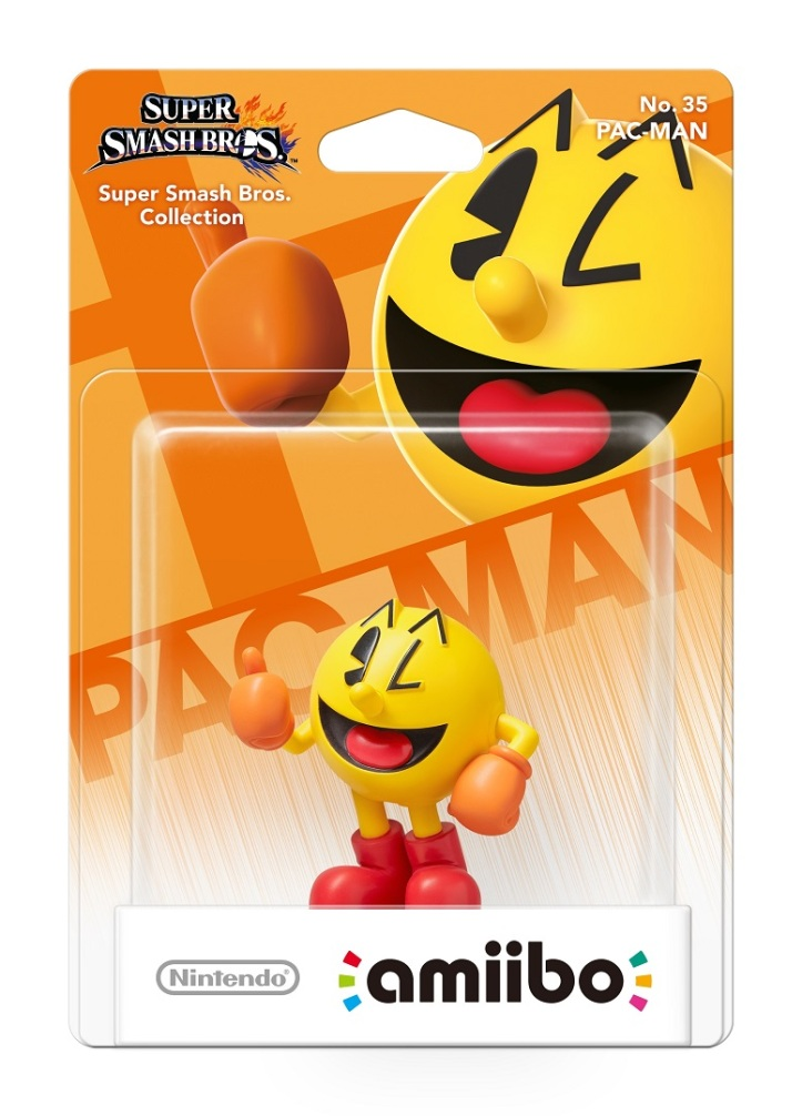 Pac-Man Amiibo Nintendo