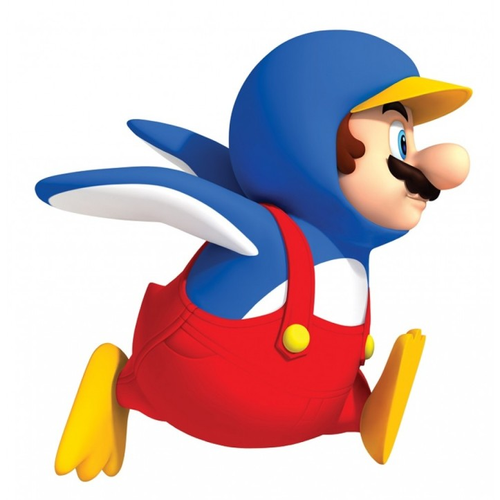 Penguin Mario New Super Mario Bros Wii