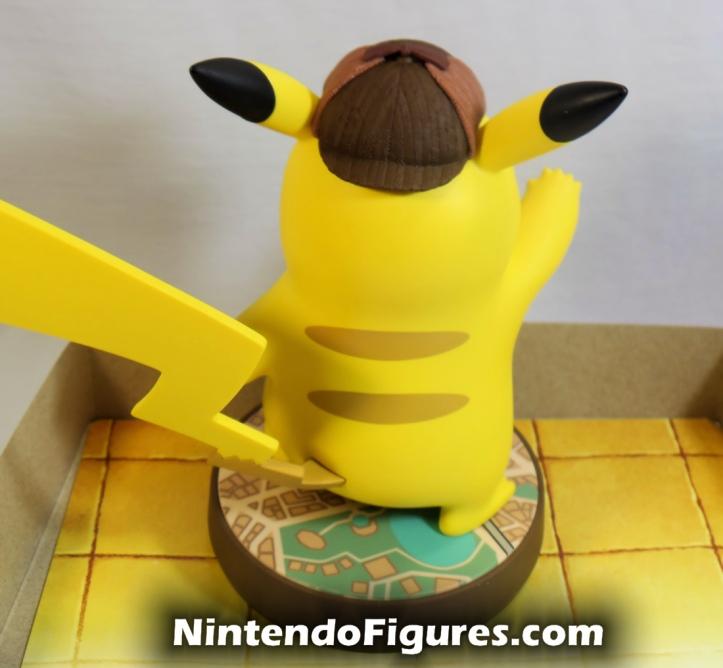 Detective Pikachu Amiibo Back Nintendo Pokemon
