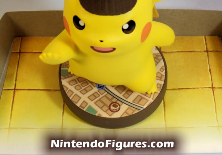 Detective Pikachu Amiibo Base Detail Nintendo Pokemon