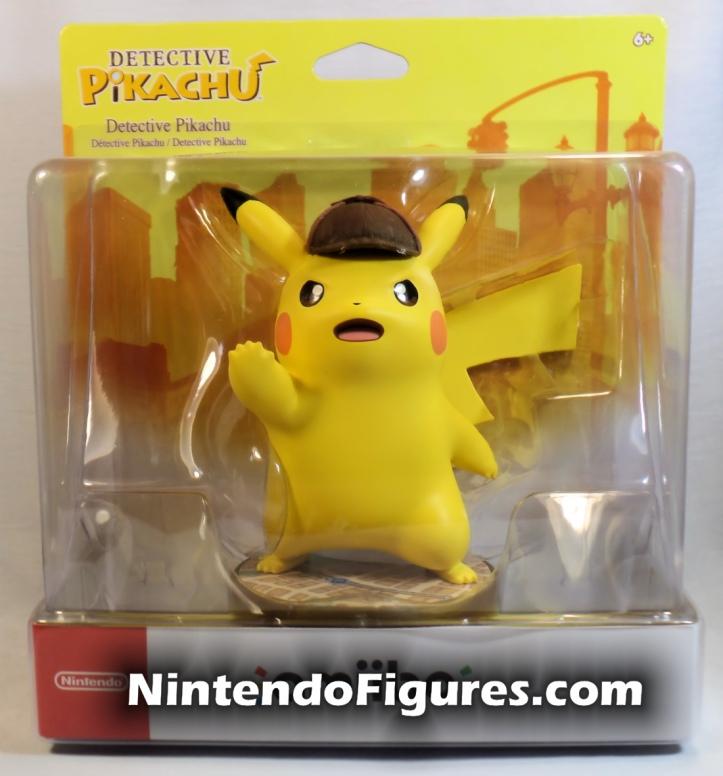 Detective Pikachu Amiibo Box Front Nintendo Pokemon