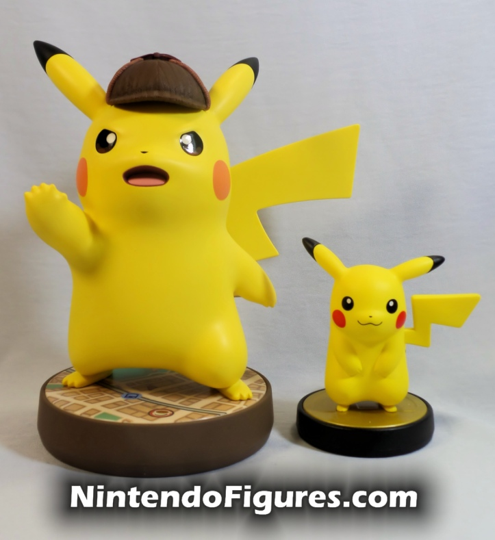 Detective Pikachu Amiibo Super Smash Brothers Nintendo Pokemon