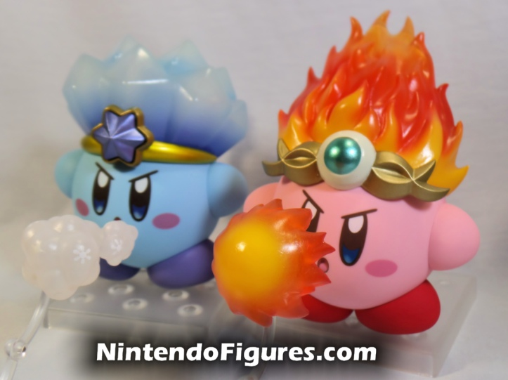 Ice Kirby and Fire Kirby Nendoroid Nintendo Good Smile Company