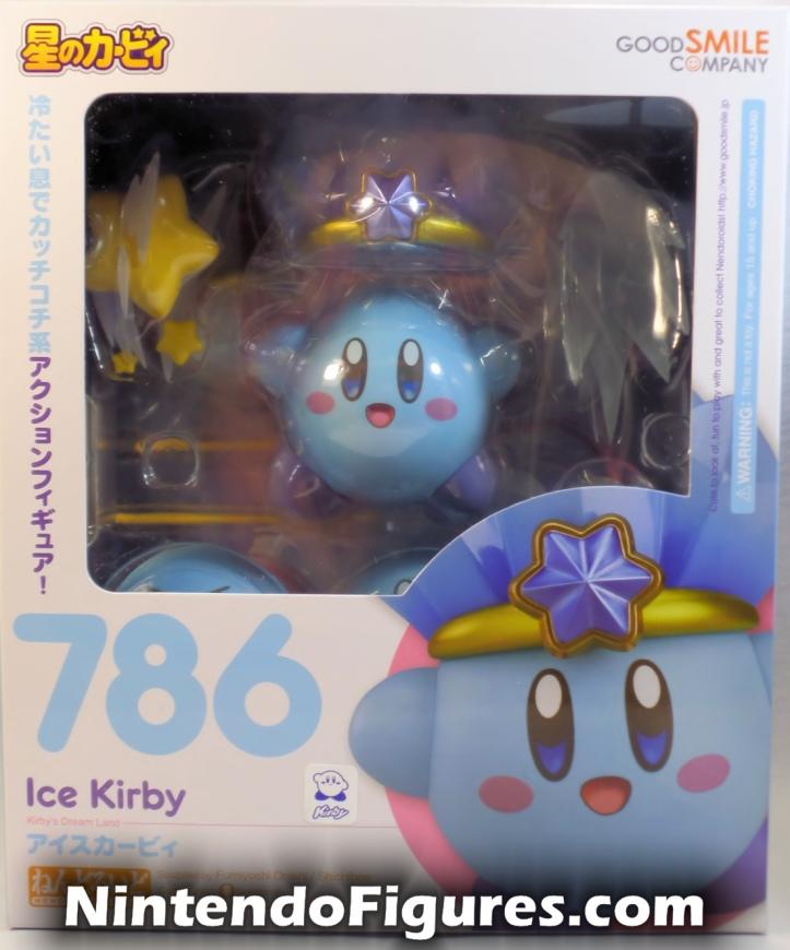 Ice Kirby Nendoroid Nintendo Good Smile Company Box Front