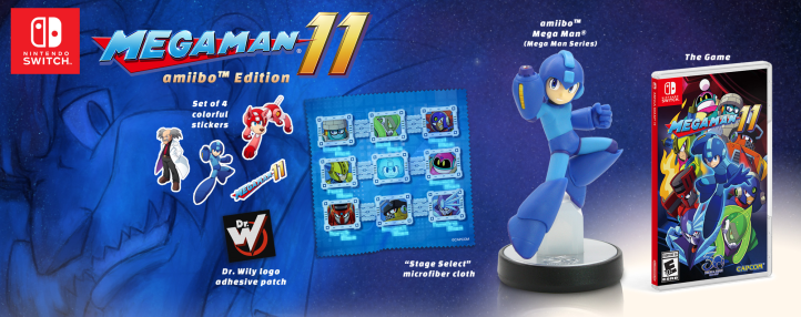 New Mega Man 11 Amiibo Capcom Nintendo